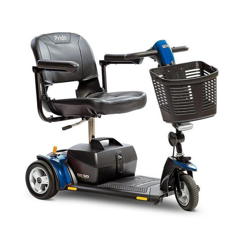 Pride Mobility Go-Go Elite Traveller Plus 3-Wheel Travel Mobility Scooter