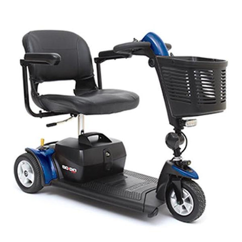Pride Mobility Go-Go Sport 3-Wheel Travel Mobility Scooter