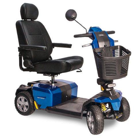 Pride Mobility Victory 10 LX with CTS Suspension Mobility Scooter