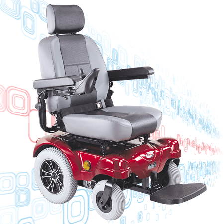 CTM HS-5600 Power Electric Wheelchair - Mobility Ready