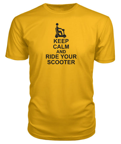 Keep Calm & Ride Your Scooter Premium Tee