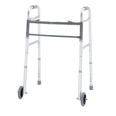 Merits Health W144 Bariatric Aluminum Folding Walker - Mobility Ready