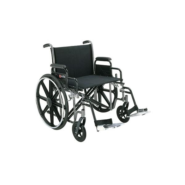 Merits Health N473 Voyageur Heavy Duty Wheelchair - Mobility Ready