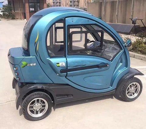 Green Transporter Q Pod 4 Wheel Electric Mobility Scooter - Mobility Ready