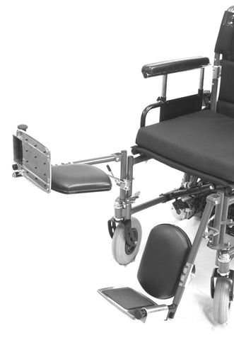 Shoprider Black Elevating Leg Rest - Mobility Ready