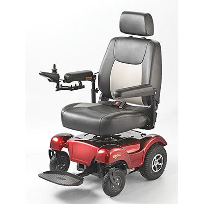Merits Health Regal Electric Wheelchair - Mobility Ready