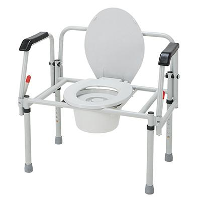 Merits Health C314 Bariatric 3-In-1 Steel Commode - Mobility Ready