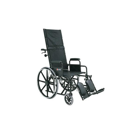 Merits Health N700 Ranier Lightweight Full Recliner Wheelchair - Mobility Ready
