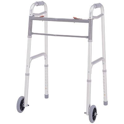 Merits Health W124 Deluxe Folding Walker - Mobility Ready