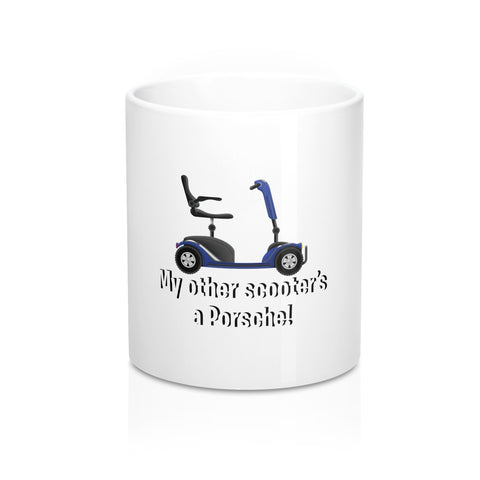 My Other Scooter's A Porsche Mug