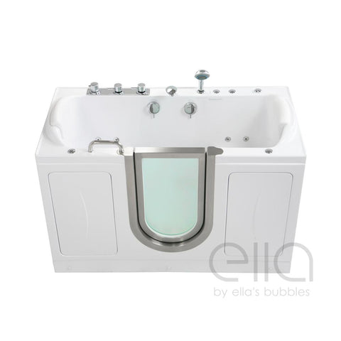 Ella Bubbles The Companion – Two Seat Inward Swing Acrylic Walk-In Bathtub - Mobility Ready