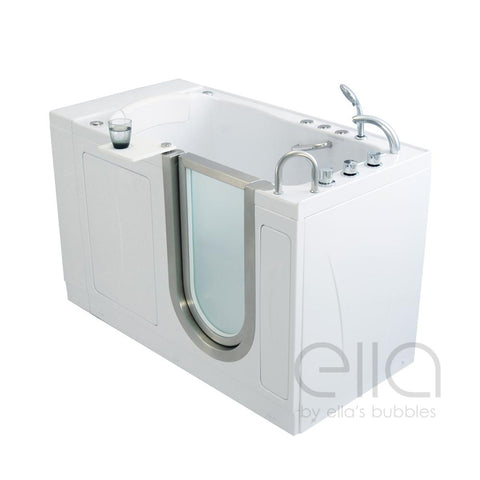 Ella Bubbles Elite – Acrylic Walk-In Bathtub - Mobility Ready
