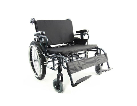 Karman KM-BT10 – 22″ to 30″ Seat Manual Wheelchair - Mobility Ready