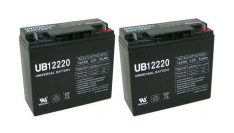 2 EV Rider RiderXpress 4 Wheel Mobility Scooter Batteries - Mobility Ready