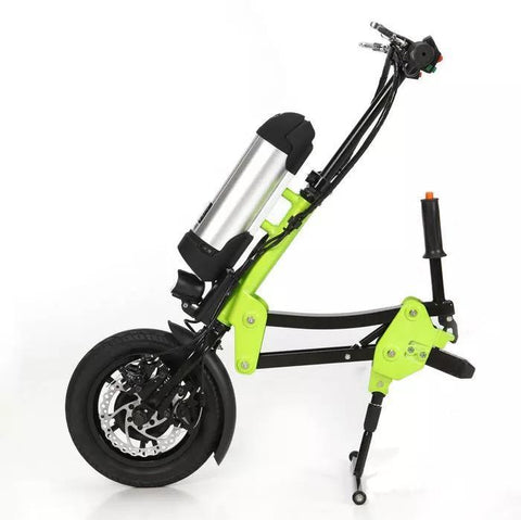 Green Bike USA Freedom 350W 48V Electric Bike (attaches to wheelchair) - Mobility Ready