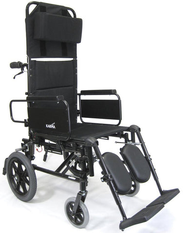 Karman KM-5000 Transport Manual Wheelchair - Mobility Ready