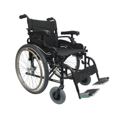 "Karman KM-8520 22"" Manual Wheelchair - Mobility Ready"