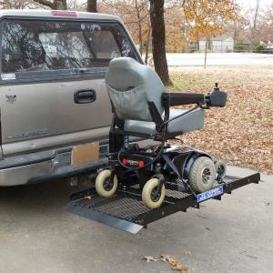 "EWheels 18"" Actuator 12 Volt DC Motor Electric Carrier Steel Platform - Mobility Ready"