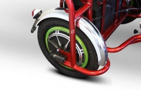 EWheels Rear Tire For EW-02 Folding Mobility Scooter - Mobility Ready