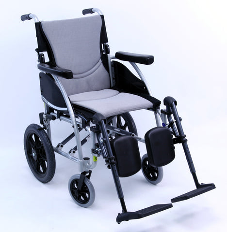 Karman S-Ergo 115 Transport Manual Wheelchair - Mobility Ready