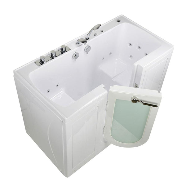 Ella Bubbles Tub4Two – Two Seat Acrylic Outward Swing Walk-In Bathtub - Mobility Ready