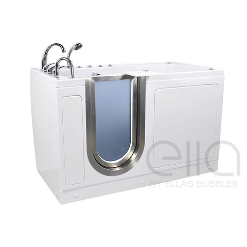 Ella Bubbles Ultimate Acrylic Walk-In Spa Bath with Foot Massage - Mobility Ready