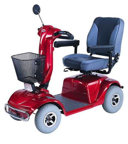 CTM HS-740 Heavy Duty 4-Wheel Mobility Scooter - Mobility Ready