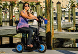 EV Rider Stand N Ride Three Wheel Folding Travel Mobility Scooter - Mobility Ready
