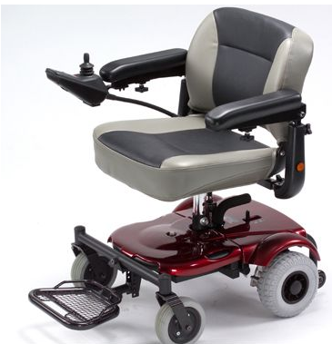 Merits Health P321 EZ-GO Electric Wheelchair - Mobility Ready