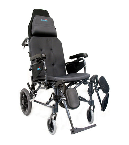 Karman MVP-502 Transport Manual Wheelchair - Mobility Ready