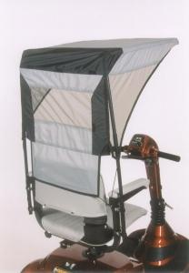 EWheels Vented Canopy - Mobility Ready