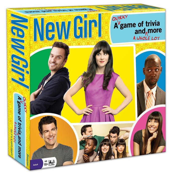 New Girl: A Quirky Game of Trivia and A Whole Lot More - Board Game