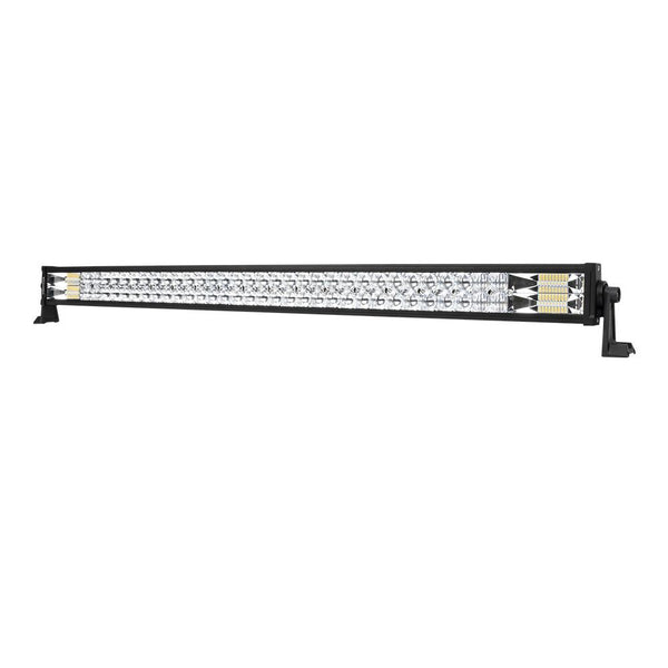 42inch Osram Philips LED Light Bar 5D Triple Flood Spot Offroad Driving 4WD 4x4