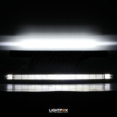 45inch Cree Led Light Bar Spot Flood Combo Quad Row Driving Offroad 4x4
