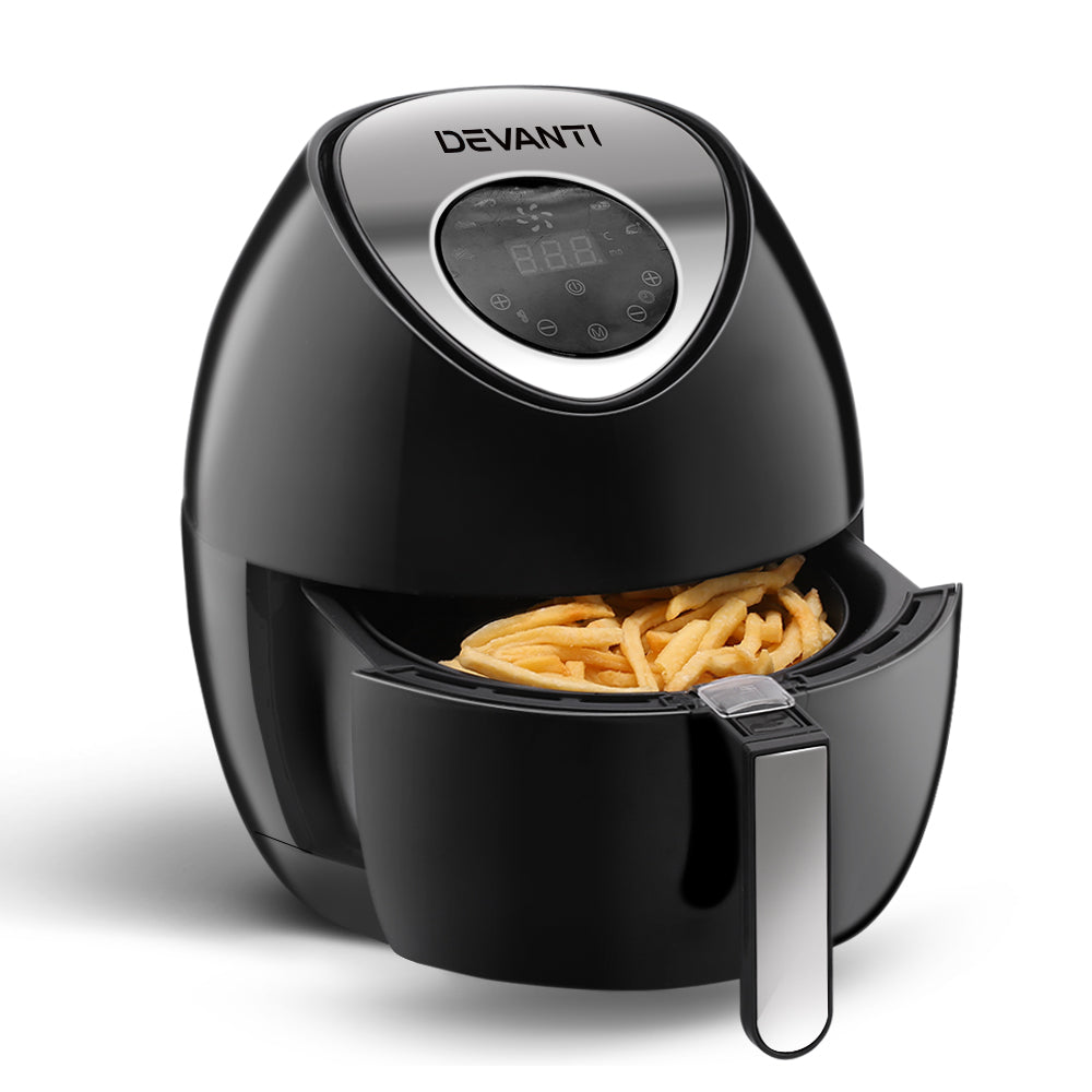 DEVANTi 4.5L LCD Air Fryer