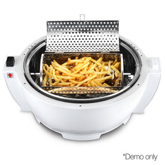 5 Star Chef 13L Air Fryer Oven Cooker - White & Red
