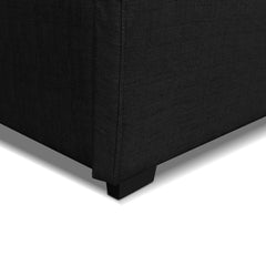Artiss Queen Gas Lift Bed Frame - Charcoal