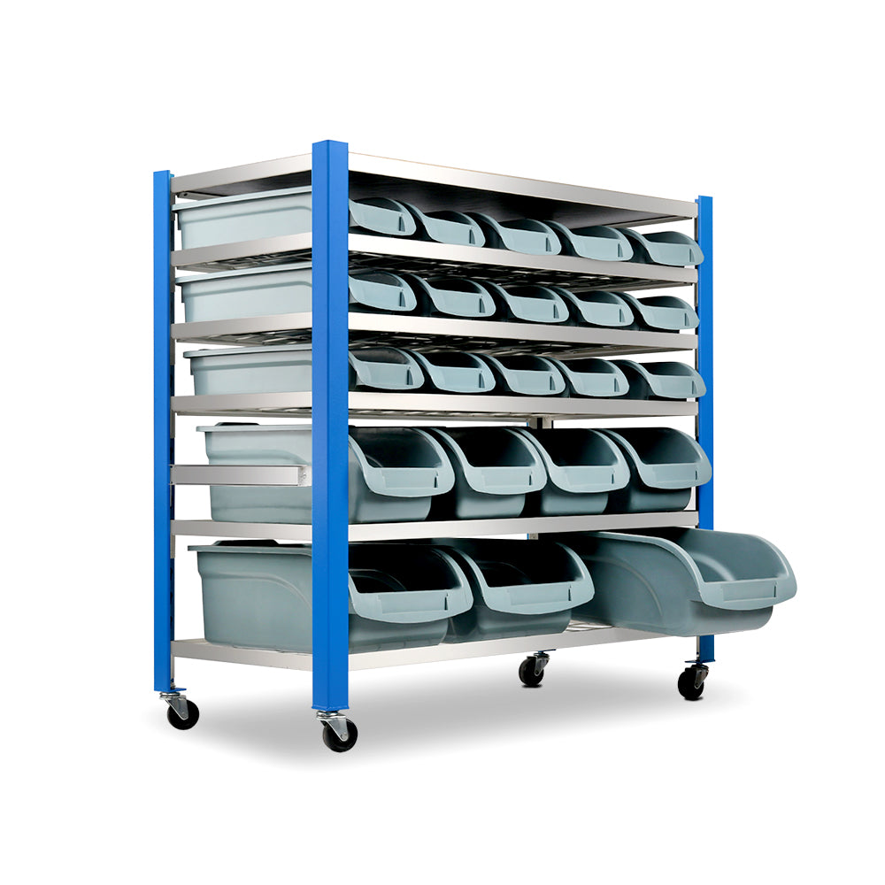 Giantz 22 Storage Bin Rack Stand