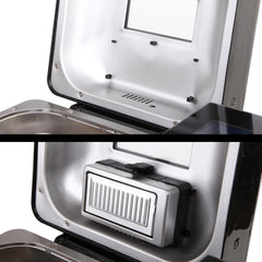 5 Star Chef Stainless Steel 19 In 1 Bread Maker with Fruit and Nut Dispenser