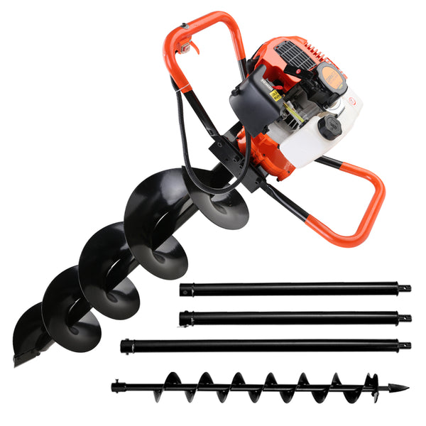 Giantz 75CC Petrol Post Hole Digger Drill