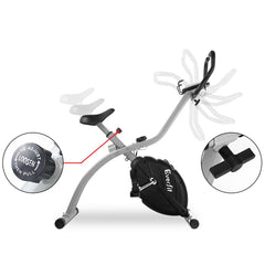 Everfit Folding Magnetic Exercise X-Bike X bike Bicycle Cycling Fitness