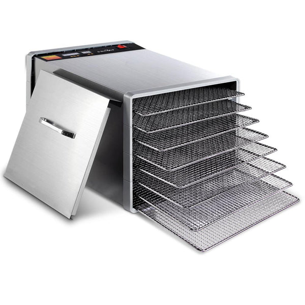 5 Star Chef Stainless Steel Food Dehydrator with 8 Trays