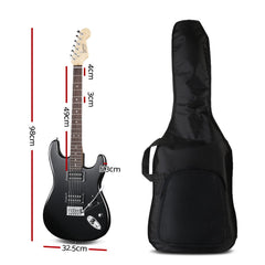 ALPHA Electric Guitar - Black