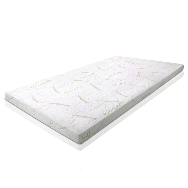 Giselle Bedding 7CM Memory Foam Mattress Topper Bammboo Cover Queen