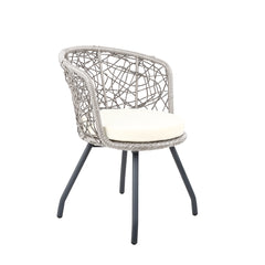 Gardeon Outdoor Patio Chair and Table - Grey