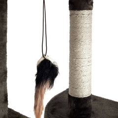 i.Pet 170cm Cat Scratching Post - Grey