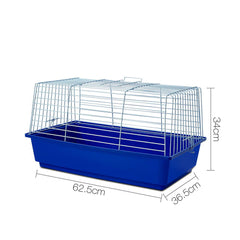 i.Pet Rabbit Cage - Blue