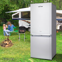 Glacio 142L Portable Bar Fridge & Freezer Caravan Camping
