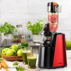 5-star Chef Cold Press Slow Juicer - Red
