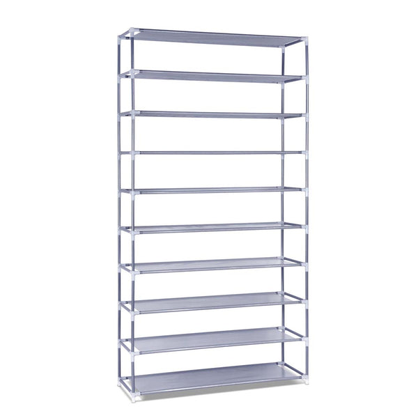 10 Tiers Stackable Shoe Storage Rack _ÌÔ? 160cm